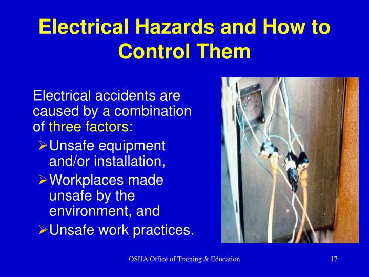 Electrical Hazards and How to