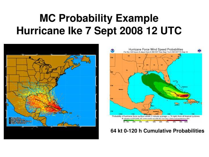 MC Probability Example