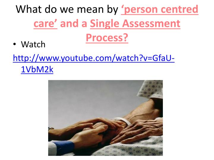 person centred care q1 Q7 explain the importance of a person-centred approach when working with an individual with diabetes q8  q1 outline the care pathway for diabetes q2.