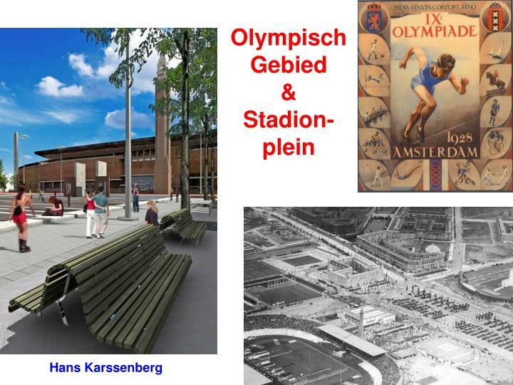olympisch gebied stadion plein n.