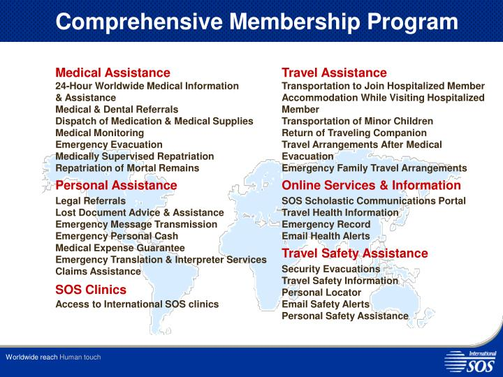 Comprehensive Membership Program