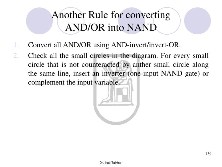 Another Rule for converting