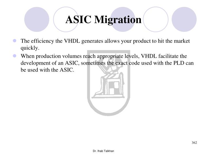 ASIC Migration