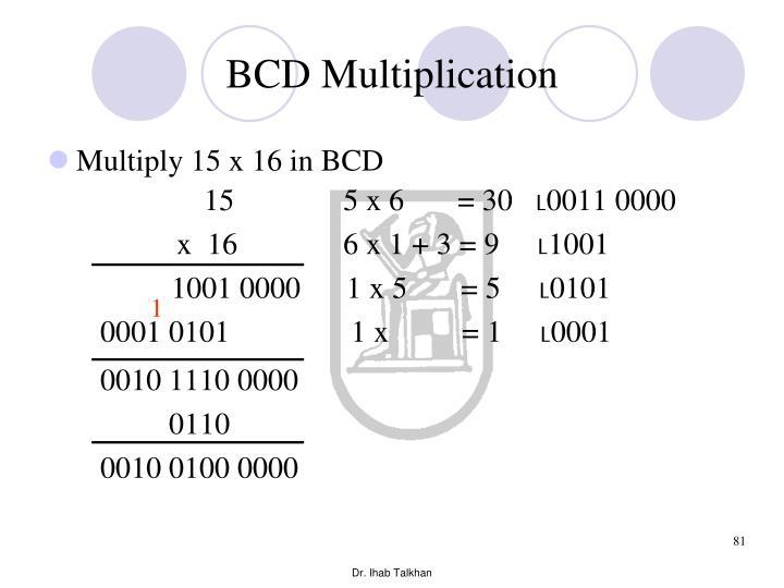 BCD Multiplication