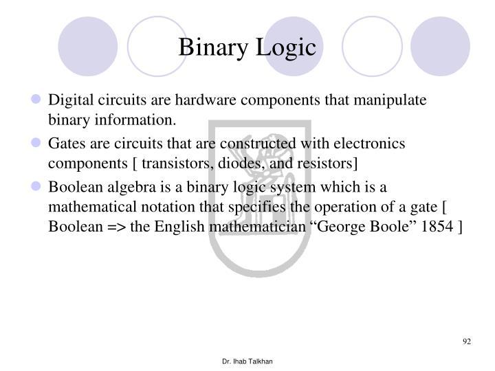 Binary Logic