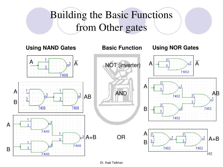 Using NOR Gates
