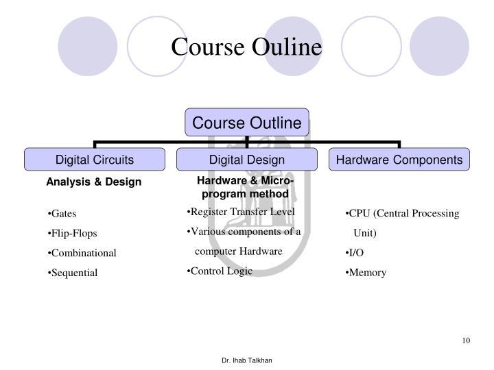 Course Ouline