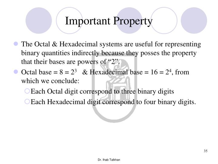 Important Property