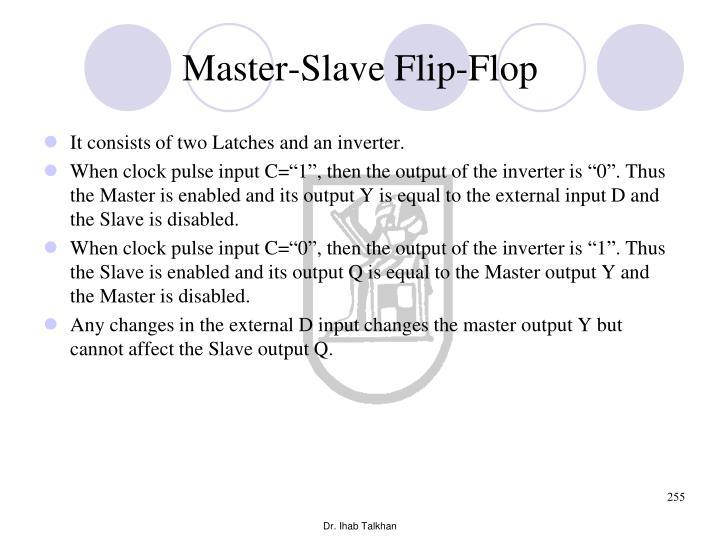 Master-Slave Flip-Flop