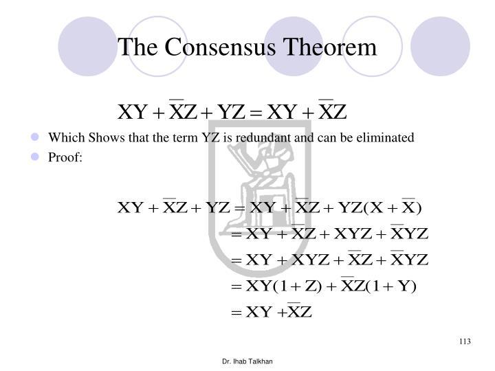 The Consensus Theorem