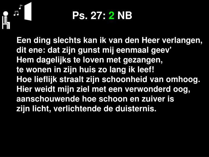 Ps. 27: