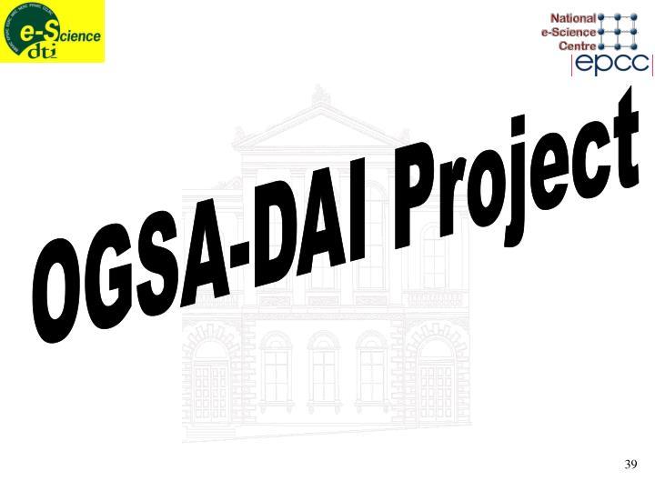 OGSA-DAI Project