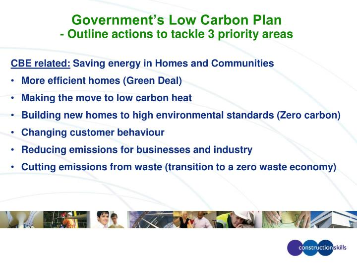 Government's Low Carbon Plan