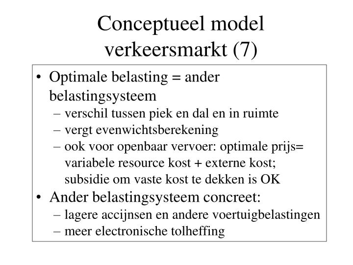 Conceptueel model verkeersmarkt (7)