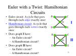 euler with a twist hamiltonian circuits