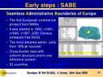 s eamless a dministrative b oundaries of e urope