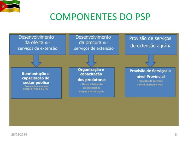 COMPONENTES DO PSP