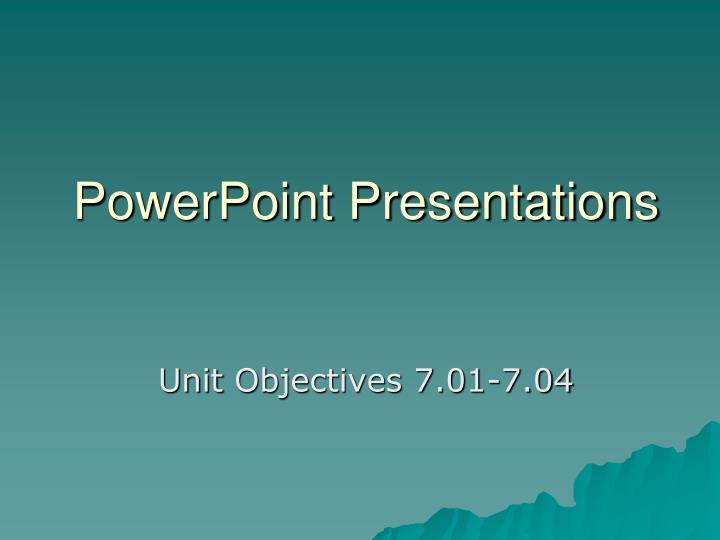 powerpoint presentations n.