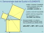 4 demonstra ie dat de euclid in elemente