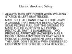 electric shock and safety1