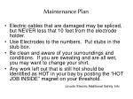 maintenance plan1