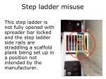 step ladder misuse1