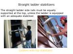 straight ladder stabilizers