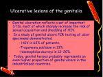 ulcerative lesions of the genitalia1