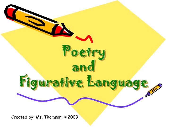 poetry and figurative language n.