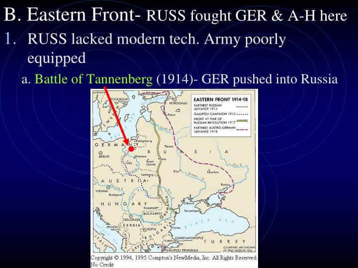 B. Eastern Front-