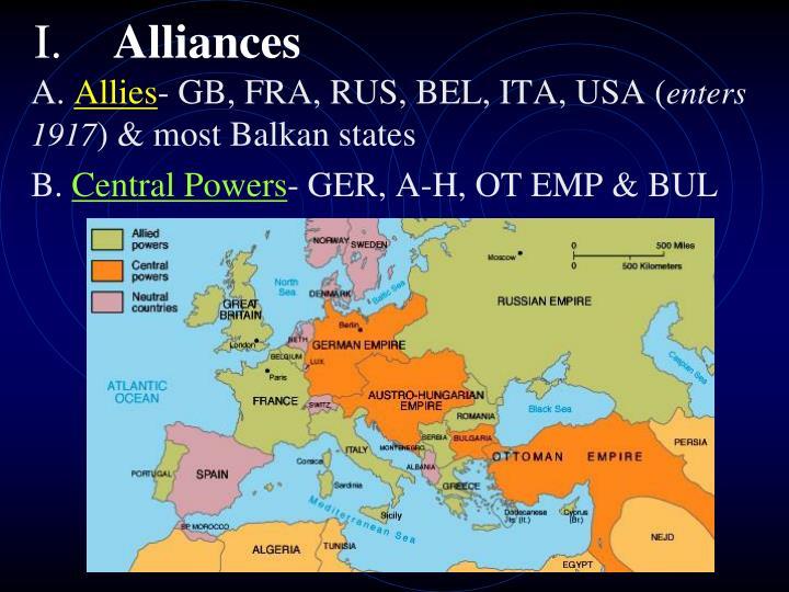 I alliances