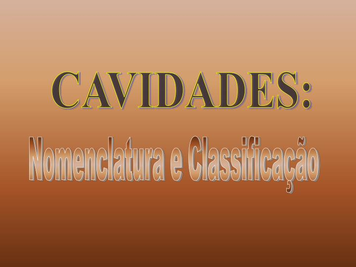 CAVIDADES: