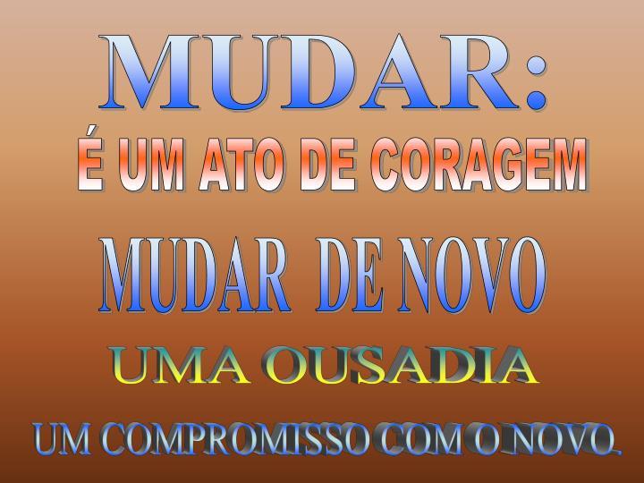 MUDAR: