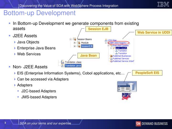 Bottom up development