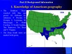 part ii background information 1 knowledge of american geography