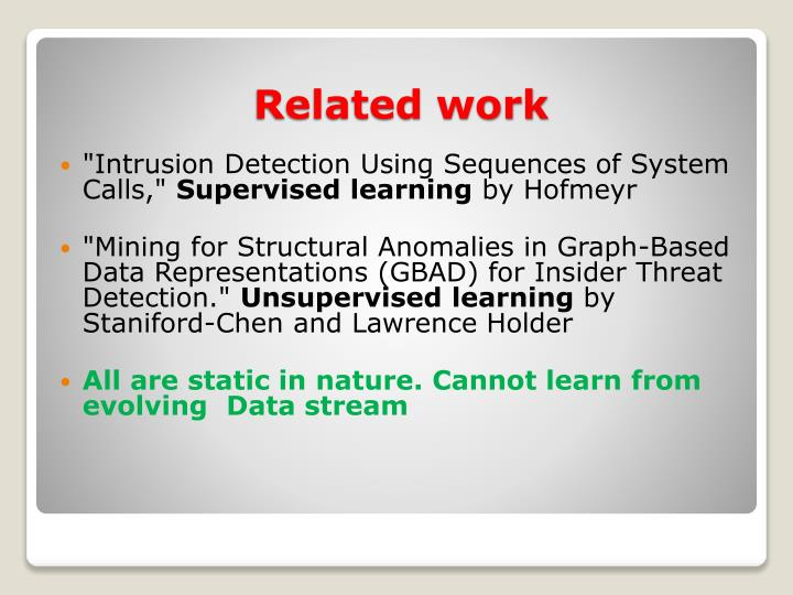 """""""Intrusion Detection Using Sequences of System Calls,"""""""