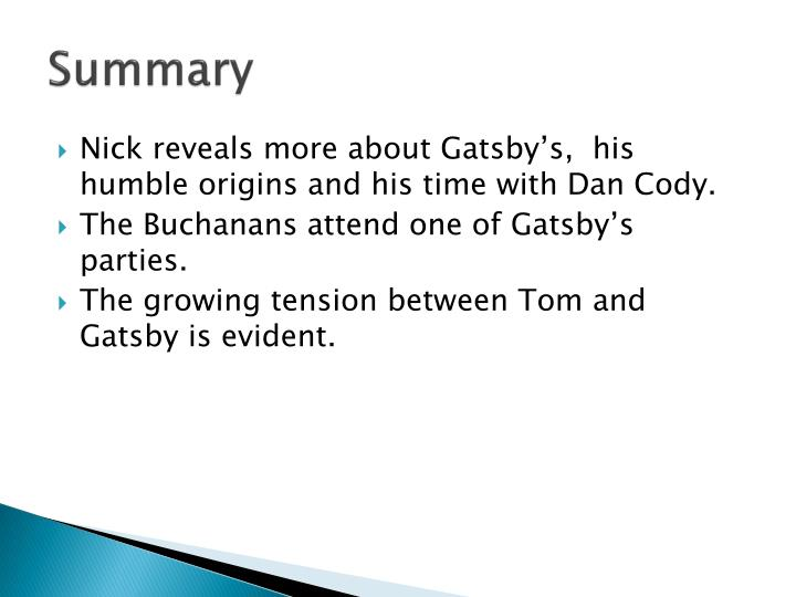 the great gatsby written task 1 Written task 1 is an imaginative piece in which you demonstrate your understanding english a: language & literature the great gatsby (2) individual oral.