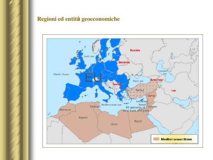 Regioni ed entit