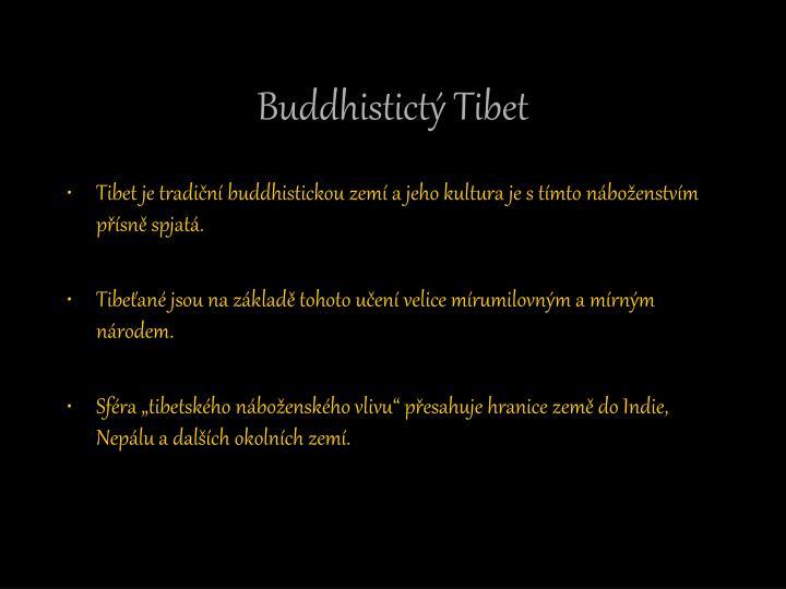 Buddhistictý Tibet
