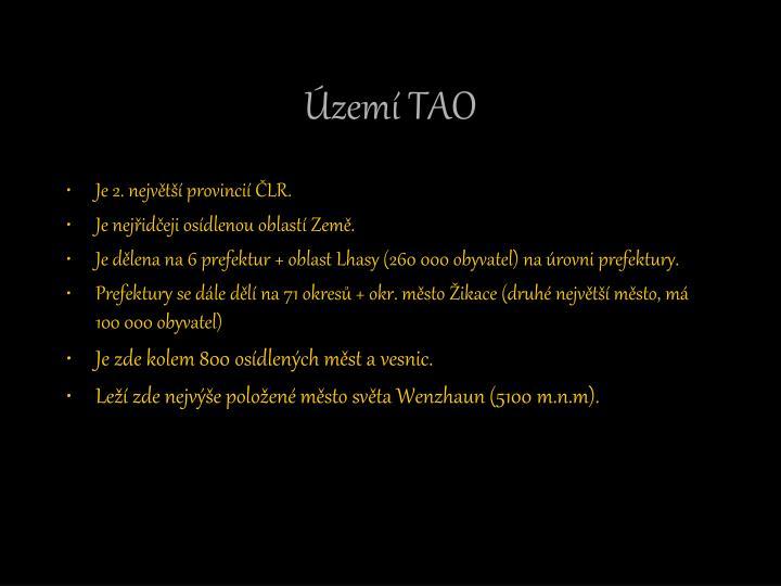 Území TAO