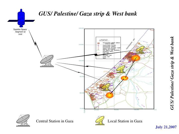 GUS/ Palestine/ Gaza strip & West bank