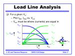 load line analysis
