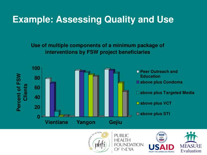 Example: Assessing Quality and Use