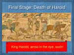 final stage death of harold