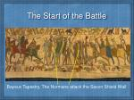 the start of the battle1