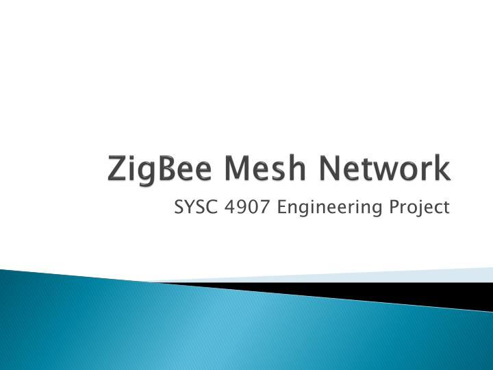 zigbee mesh network n.