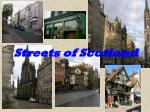 streets of scotland