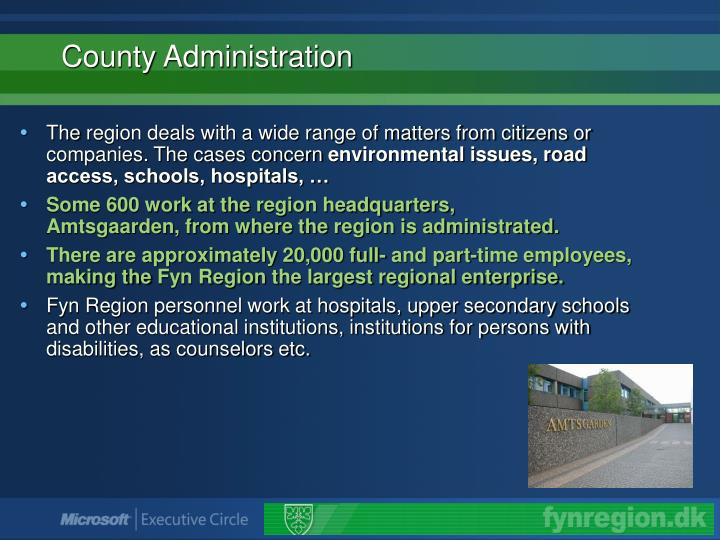 County administration