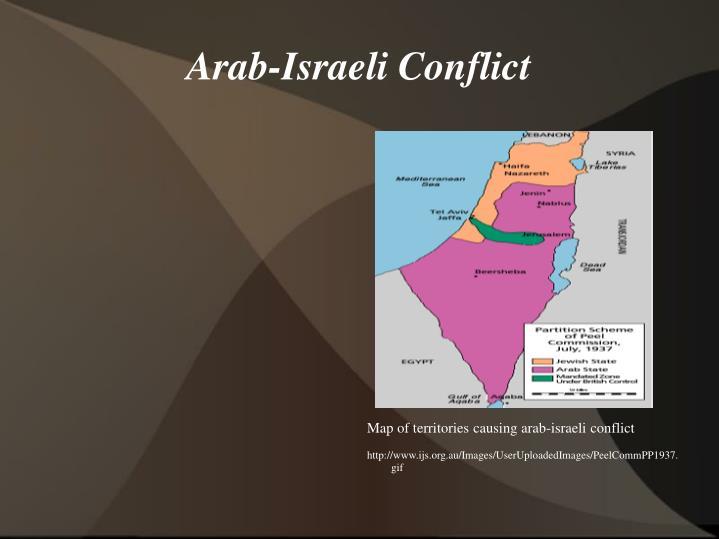 arab israeli conflict the cause