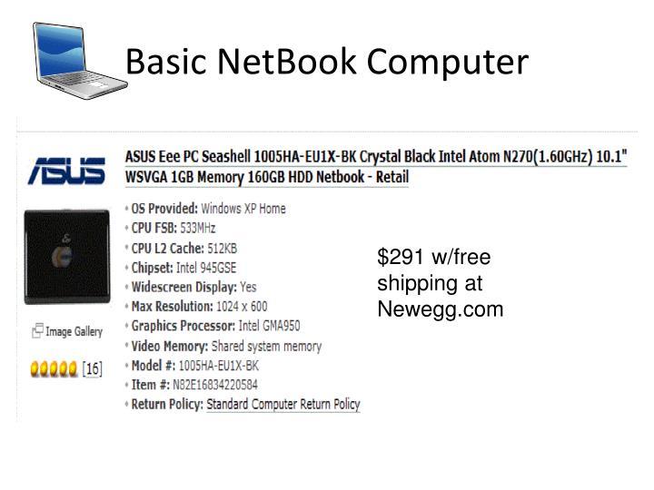 Basic NetBook Computer